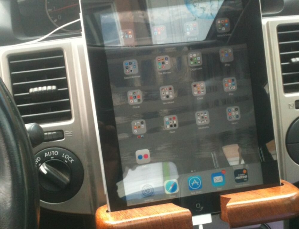 Hou die iPad maar!